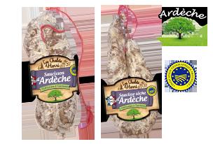 saucisson d'Ardèche